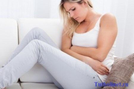 Боль в желудке перед менструацией. Почему перед месячными болит грудь?