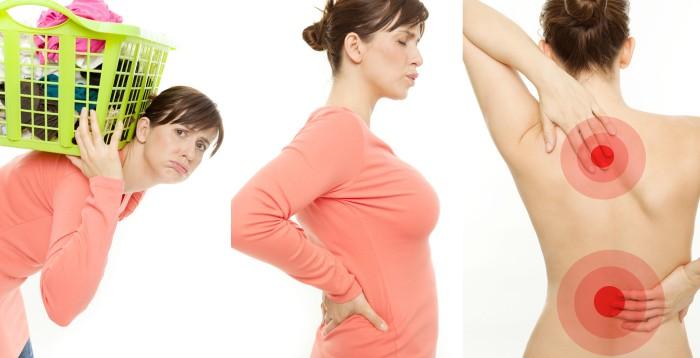 Болит спина в середине позвоночника