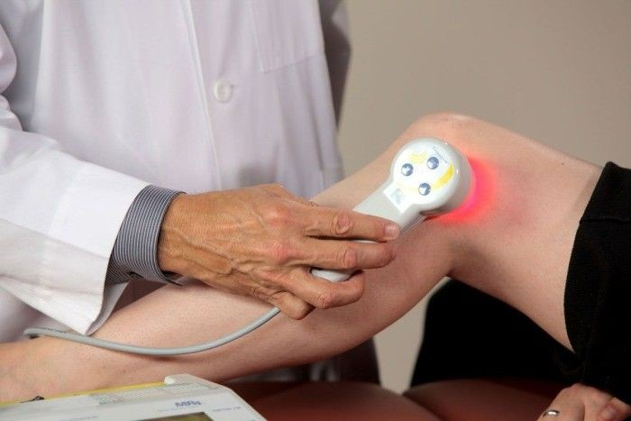 Физиотерапия при болях в колене