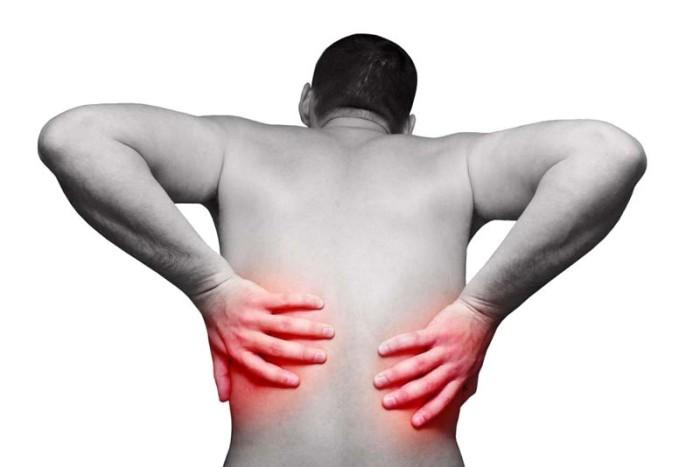 Боль в спине выше поясницы