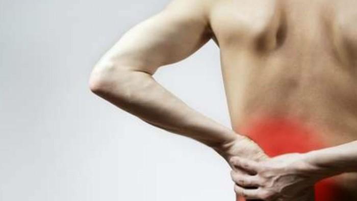 Боли спины слева