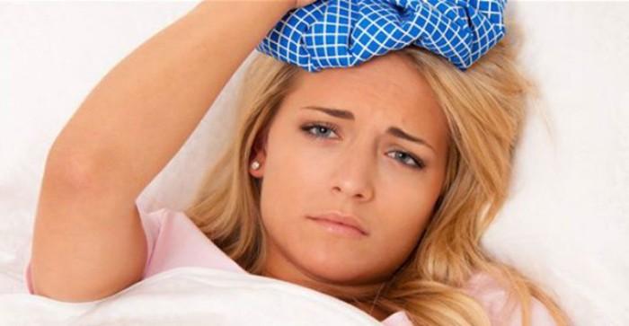 Компресс от головных болей