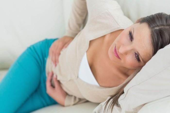 Тянет живот в беременный цикл