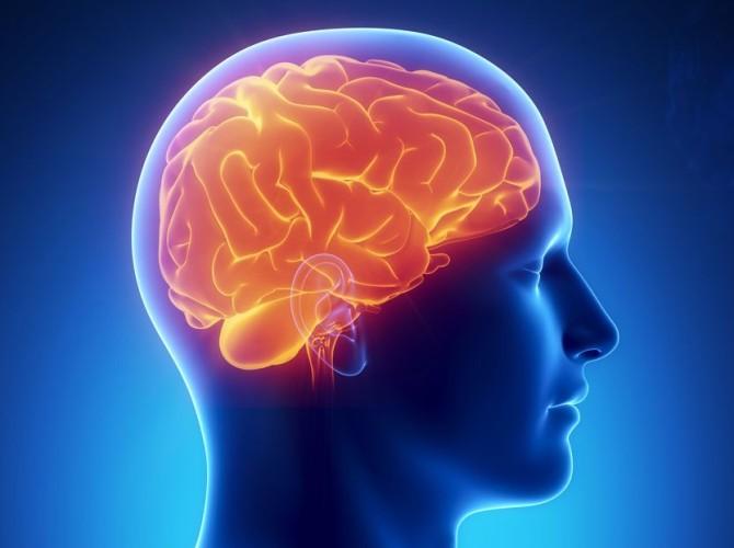 Повреждение вещества головного мозга