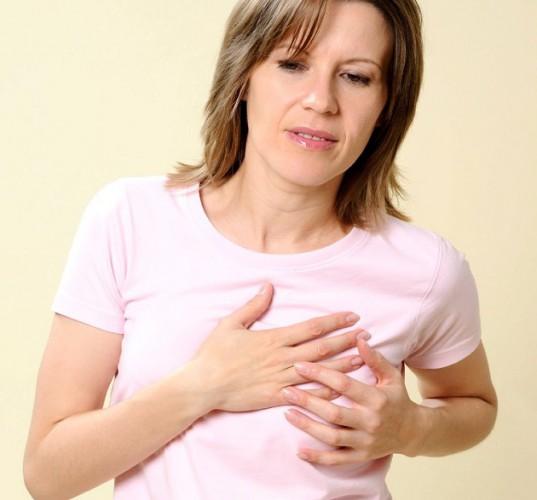 Беременность боли грудь