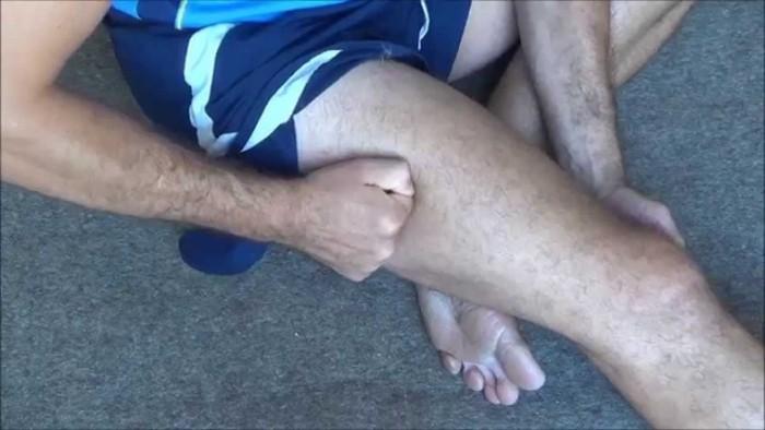 После бега болят колени