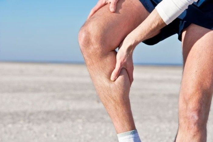 Боль ниже колен
