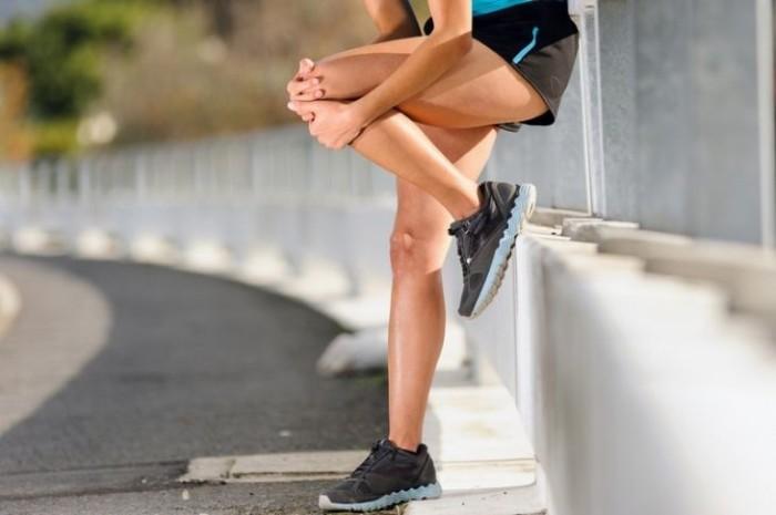 Боль в колене при беге