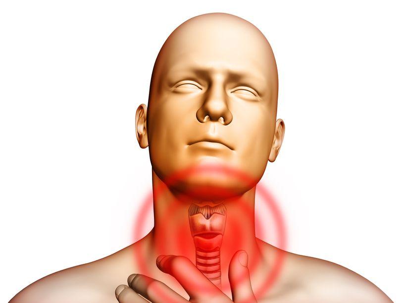 Болит горло и шея по бокам