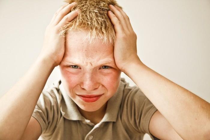 Головная боль напряжения у подростка