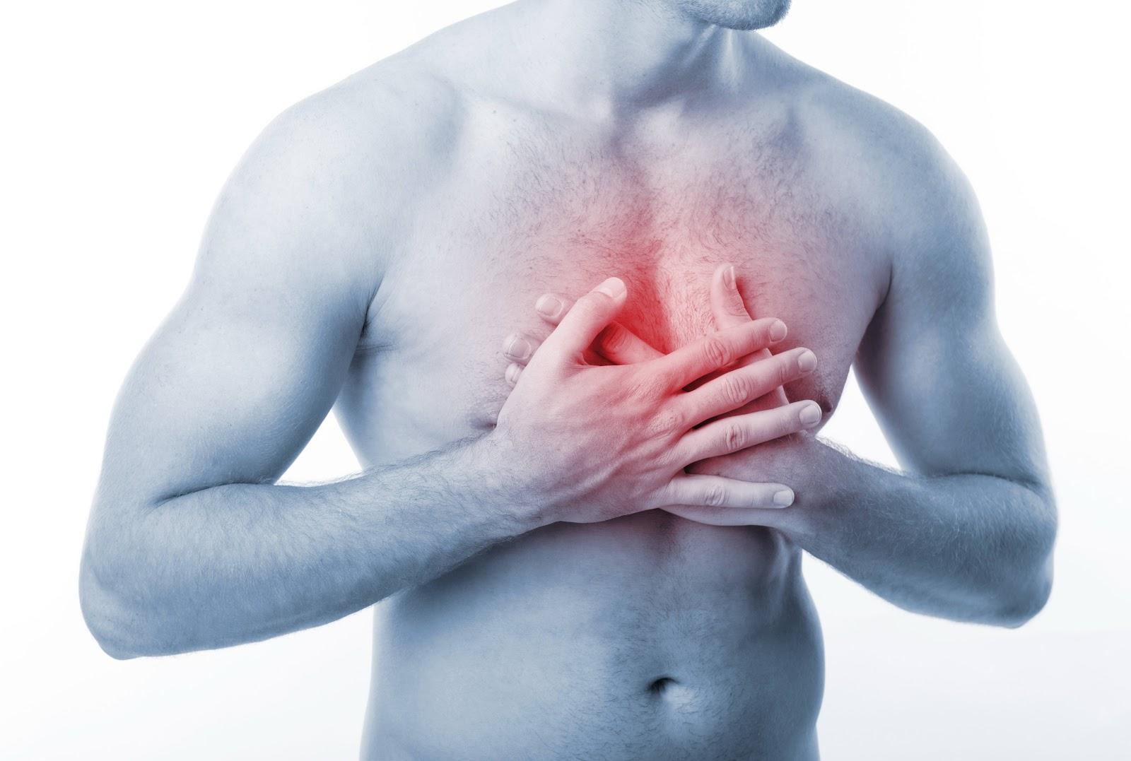 Боль в левой части грудины у мужчин