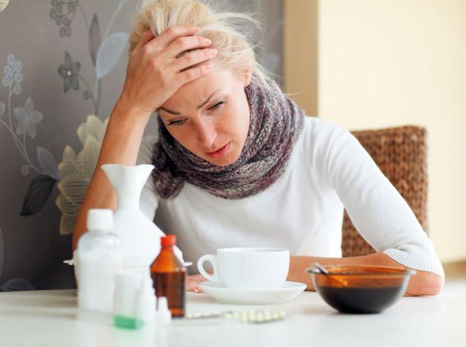 насморк кашель головная боль