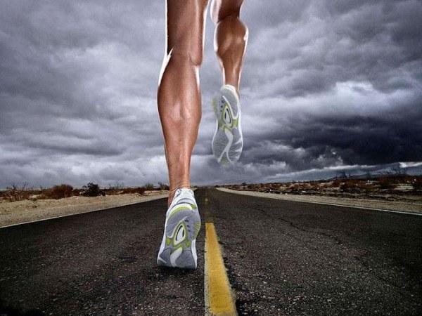 Бег боль ног