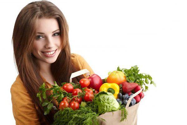 покупка овощей и фруктов