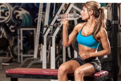 Питье на тренировке